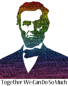 lincoln larger graphic with text color transparent background